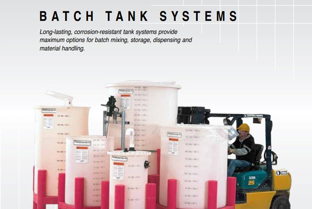 Open Top Batch Mix Tanks Brochure