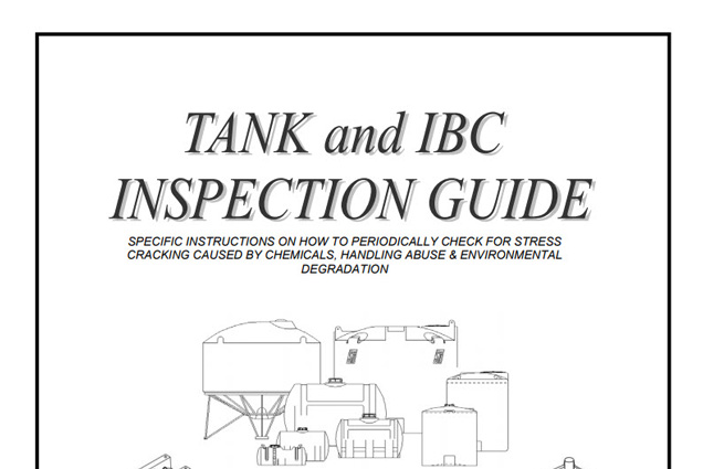 TANK INSPECTION GUIDE