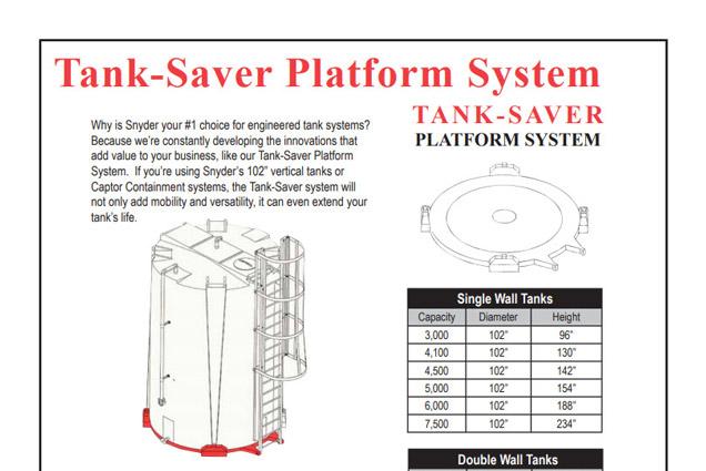 Tank Saver Platform Brochure
