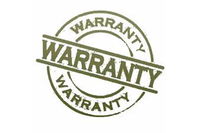 Warranty & Terms of Sale
