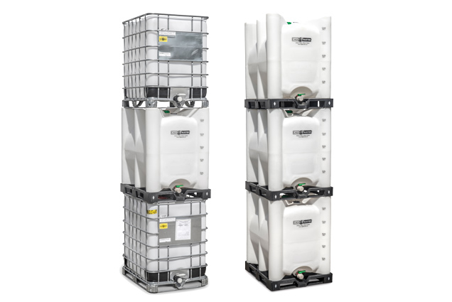 CageBuster poly tote Stack