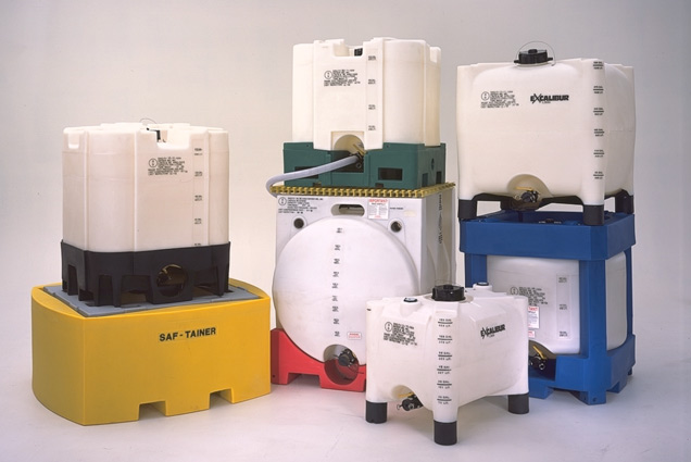 Plastic IBC Totes and Containers