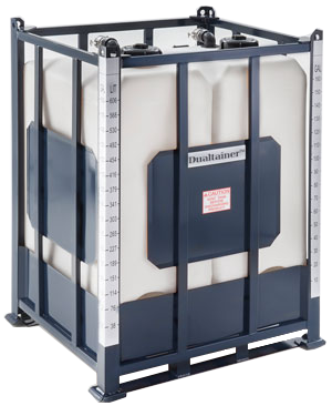 Dualtainer Two-Tank IBC Tote