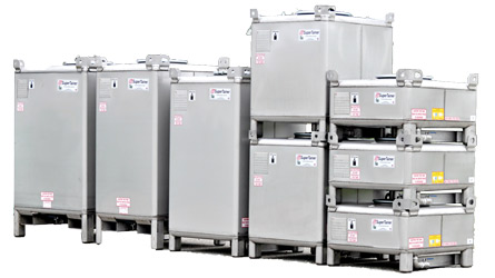 Stainless Steel Supertainer IBC Totes