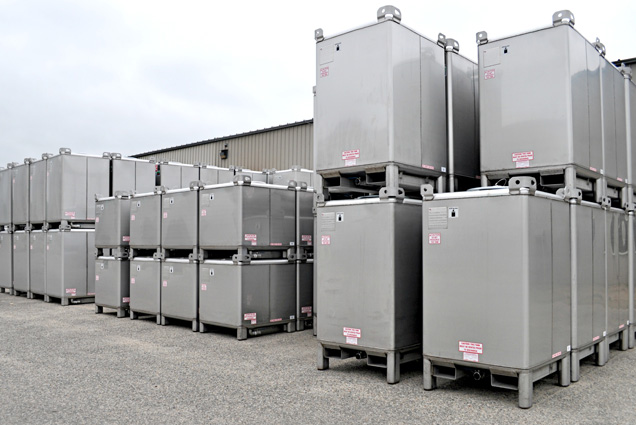 Steel IBC Totes and Tanks