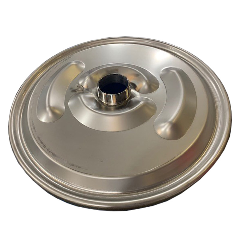328709 STANDARD 22in Drum Cover - 3in Welded Half Nipple, No Fusible Cap