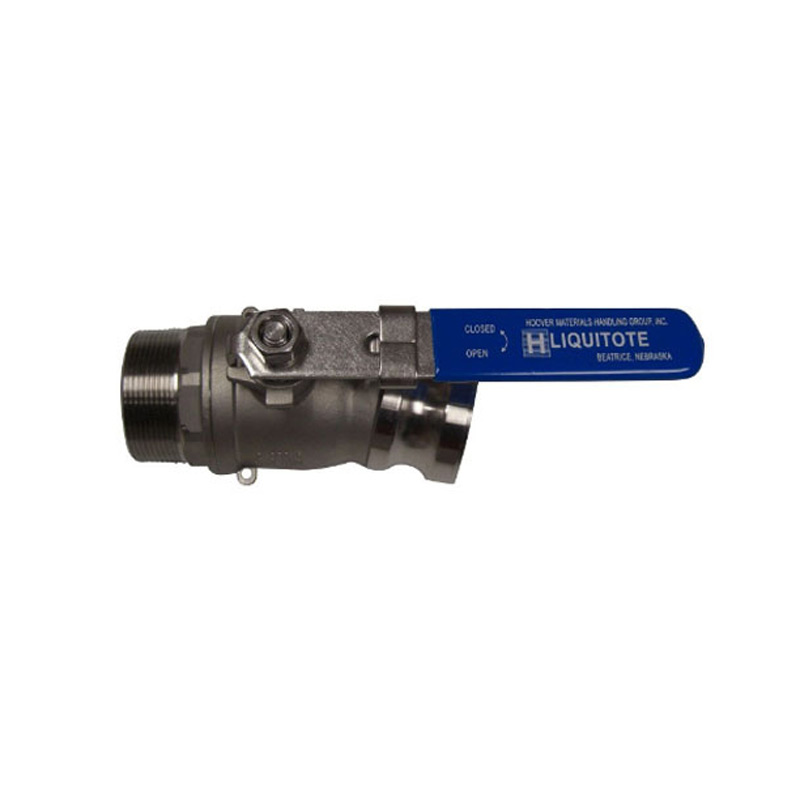 345119 2in Male NPT 15 degree Offset Valve with Adapter