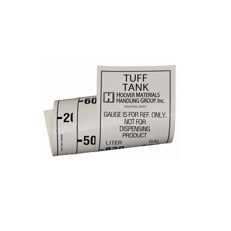 740045 Decal - Tuff Tank II 220 Gallons/Liters