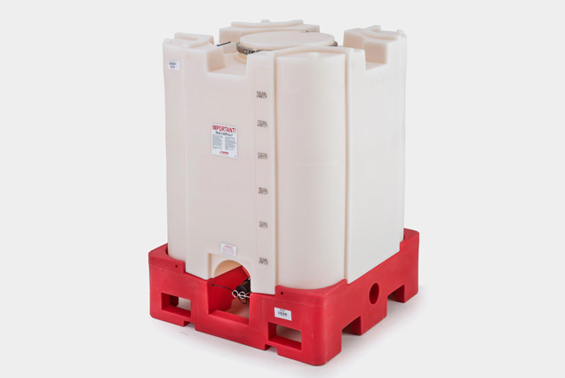 Wide Mouth Square Stackable IBC Tank