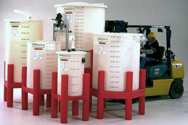 Open Top Plastic Mixing Tanks