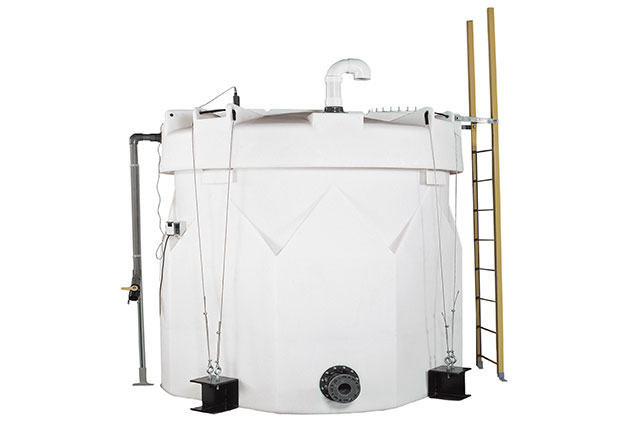 Double walled tanks