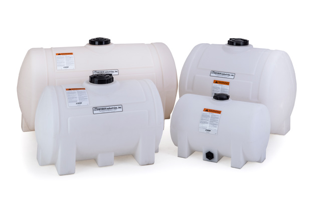 Plastic Horizontal Industrial Tanks