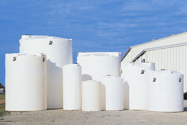 Plastic Vertical Chemical Tanks
