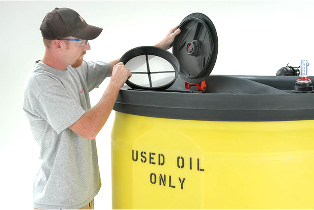 Used Oil Collection Tanks