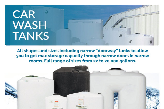 Car Wash Tanks Brochure