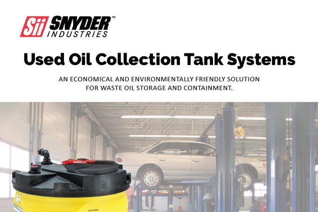 Used Oil Collection Tanks Brochure