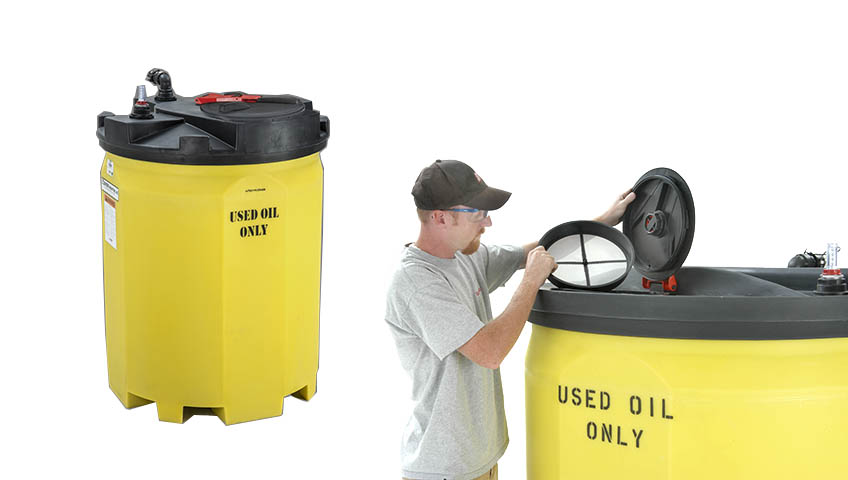 Industries served snyder industries for Used motor oil recycling process