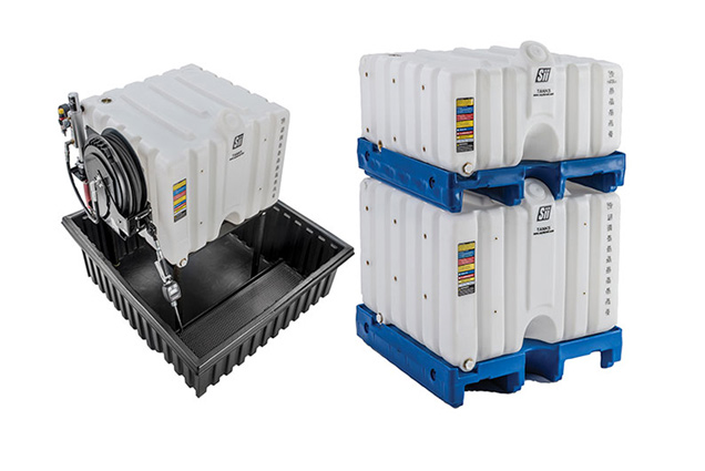 containment tanks and pallets