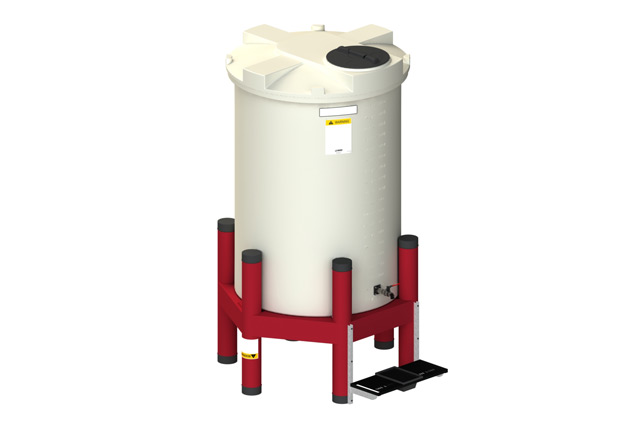 cylindrical tank gravity feed systems