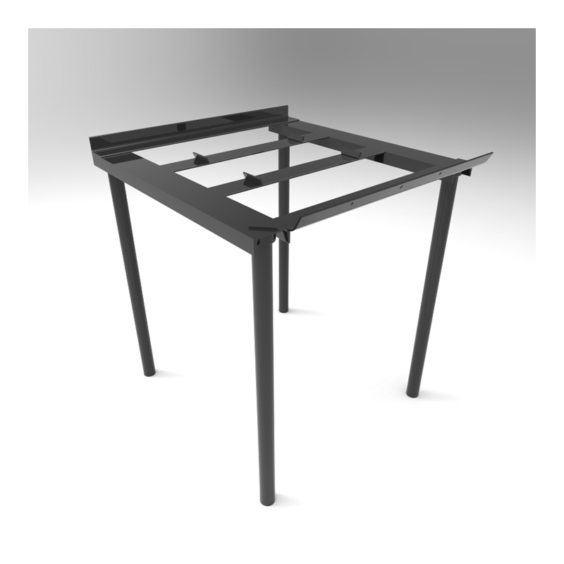 34702283 Steel Stand 36 Inch Legs
