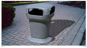Eco-Tainer Litter Receptacle