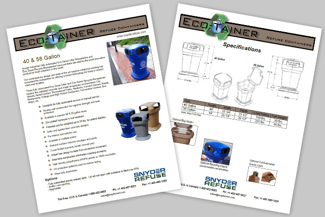 Eco-Tainers Brochure