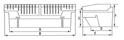 TOOL-TAINER Line Drawing