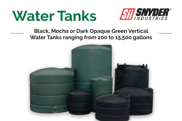 BLACK & GREEN WATER TANKS
