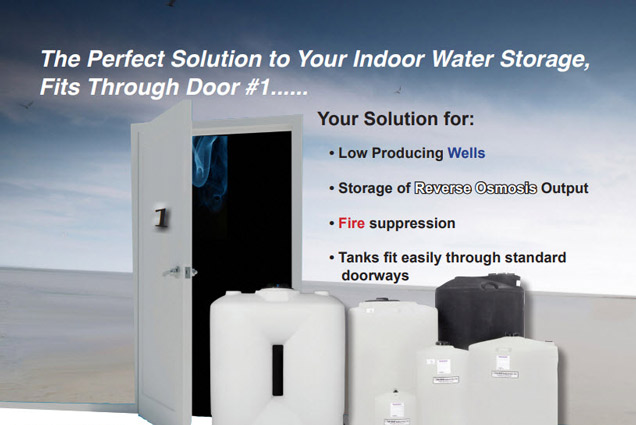 INDOOR WATER STORAGE