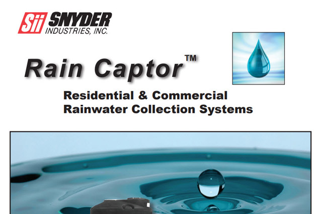 RAIN CAPTOR COLLECTION SYSTEMS